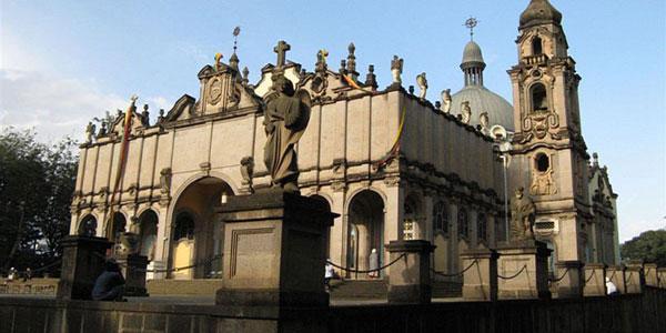Кафедральный собор св георгия эфиопия