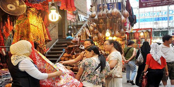 Большой базар в Урумчи